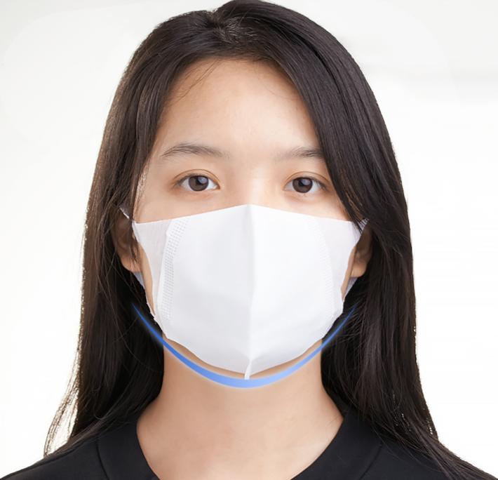 太陽商事 3D大人用立体マスク あご