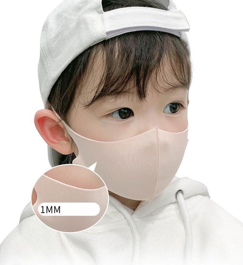 コラボファッション 子供用ひんやりマスク ベージュ