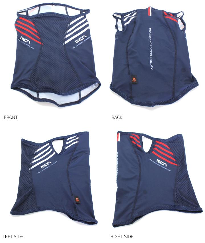 MCN SPORTS(エムシーエヌスポーツ) mcn吸汗速乾 涼しく日焼け対策! UVフェイスマスク デザイン