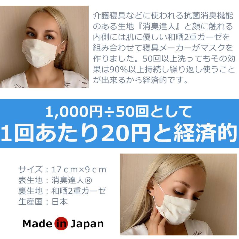 CooLZON〜もっと眠りを楽しもう! 寝具メーカーが作ったマスク 消臭達人