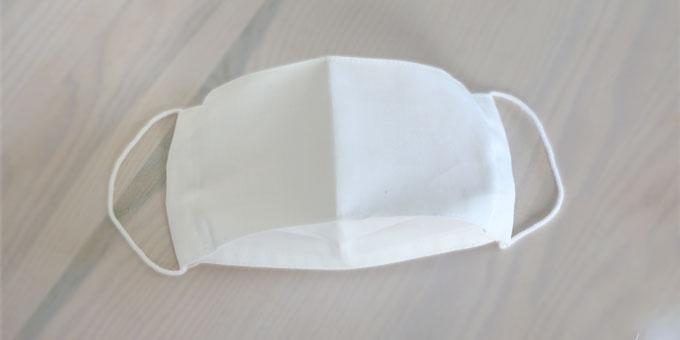 抗ウィルス加工クレンゼ生地でできた布マスク 商品